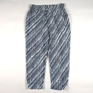 New York & Company Joggers Size M Abstract Print